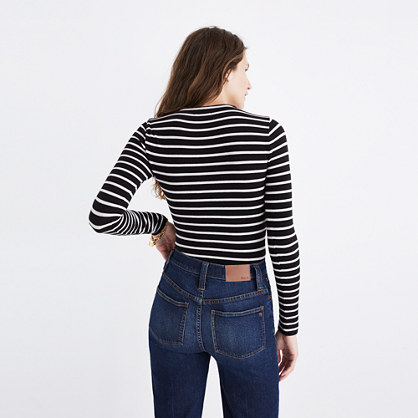 Song Scoop Bodysuit in Stripe