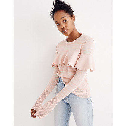 Apiece Apart™ Ruffled Sweater