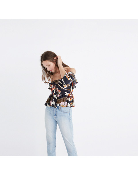 Apiece Apart™ Ventana Off-the-Shoulder Print Top