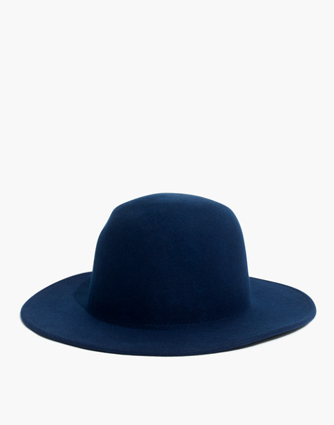 Madewell x Biltmore® Dome Felt Hat in blue night image 1