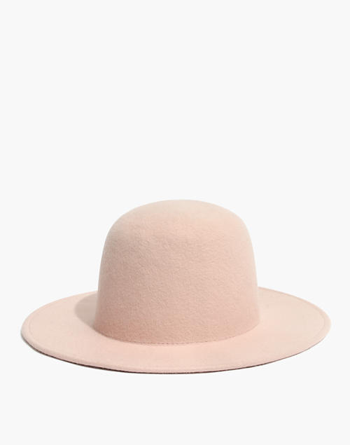 quality design fffaf 307f3 Madewell x Biltmore reg  Dome Felt Hat in peach blush ...