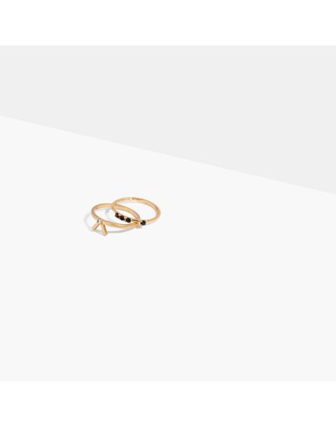 Tiny Jewels Amazonite Ring Set