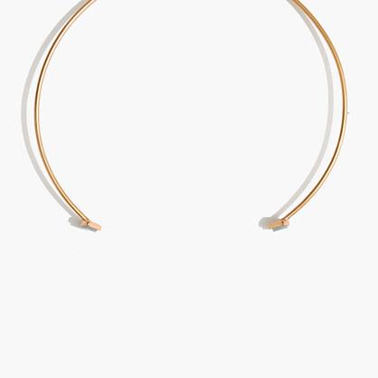 Fan Choker Necklace