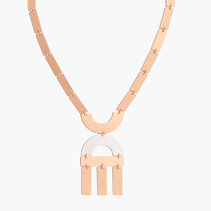 Flatform Statement Necklace