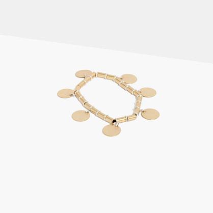 Beaded Disc Bracelet