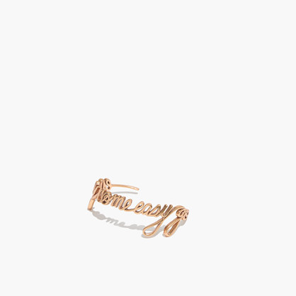 Easy Come Easy Go Cuff Bracelet