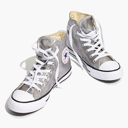 Converse® Unisex Chuck Taylor All Star High-Top Sneakers in Metallic