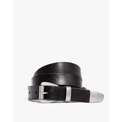 Pre-order Leather Three-Piece Belt