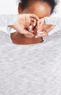 Anthem Scoop Long-Sleeve Tee in Dekalb Stripe