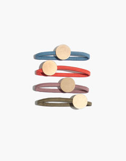 Pre-order Four-Pack Disc Hair Ties