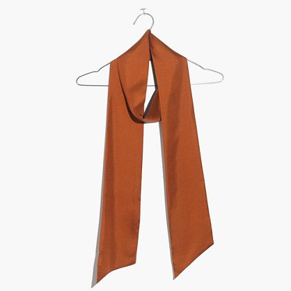 Slim Silk Scarf
