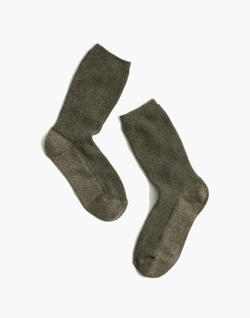 Sheer Night Sparkle Trouser Socks