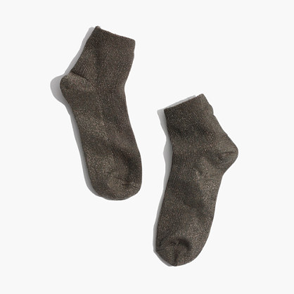 Night Sparkle Ankle Socks