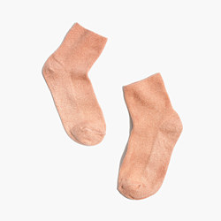Sheer Night Sparkle Ankle Socks