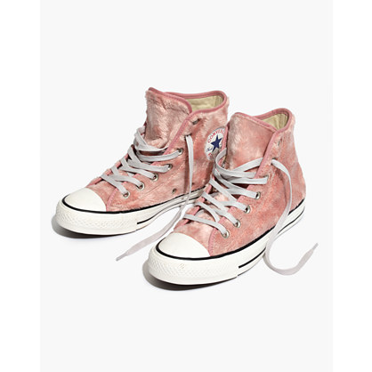 Converse® Chuck Taylor All Star High-Top Sneakers in Faux Fur