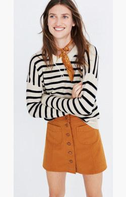 Cashmere Sweatshirt in Stripe