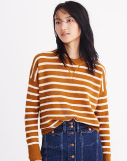 Cashmere Sweatshirt in Stripe