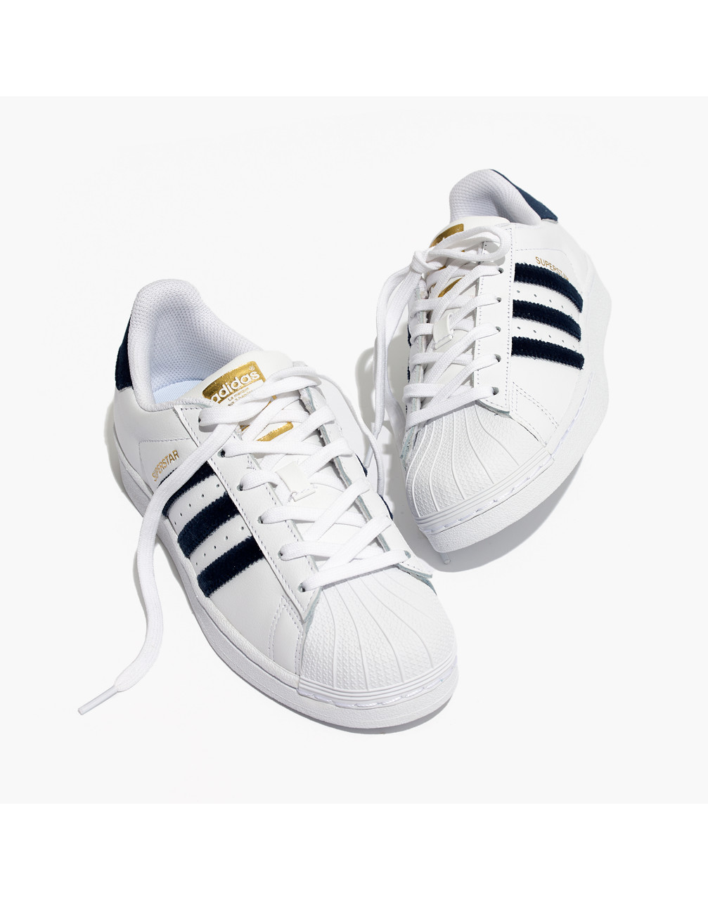 MW Adidas® Superstar™ Lace-Up Sneakers in Velvet from Madewell US | Accuweather