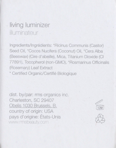 RMS Beauty® Living Luminizer in luminizer image 2