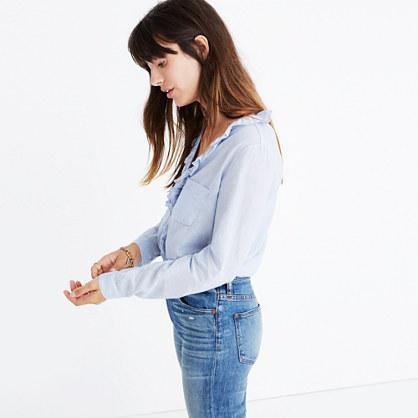 Sézane® Capucine Striped Shirt