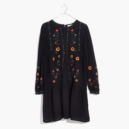 Sézane® Embroidered Elise Dress