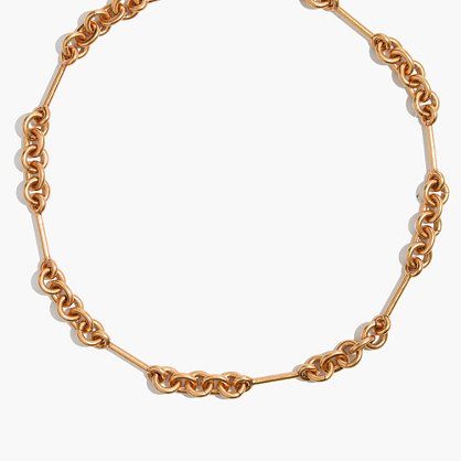 Circle Link Choker Necklace