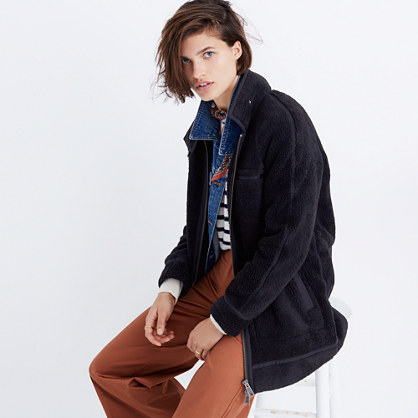 Sherpa City Grid Coat