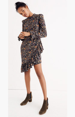 Karen Walker® Silk Loretta Dress