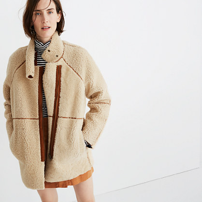 Reversible Shearling Jacket
