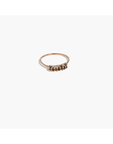 Demi-Fine Bronze Four-Stone Ring