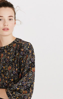 Karen Walker® Silk Songbird Print Top