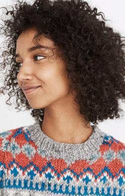 Pre-order Chamula™ Fair Isle Pullover Sweater