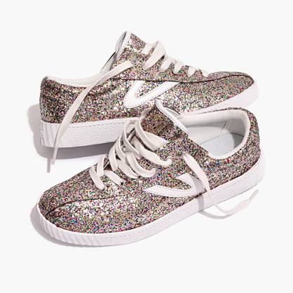 Madewell x Tretorn® Nylite Plus Sneakers in Glitter