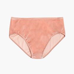 Velvet High-Waist Bikini