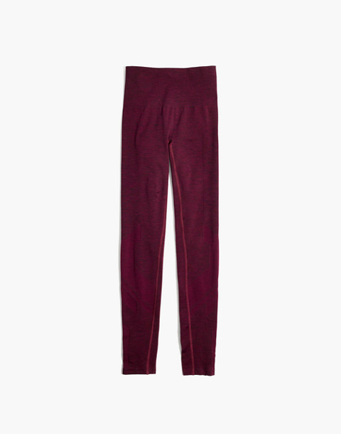 LNDR™ Eight Eight Leggings in burgundy marl image 4