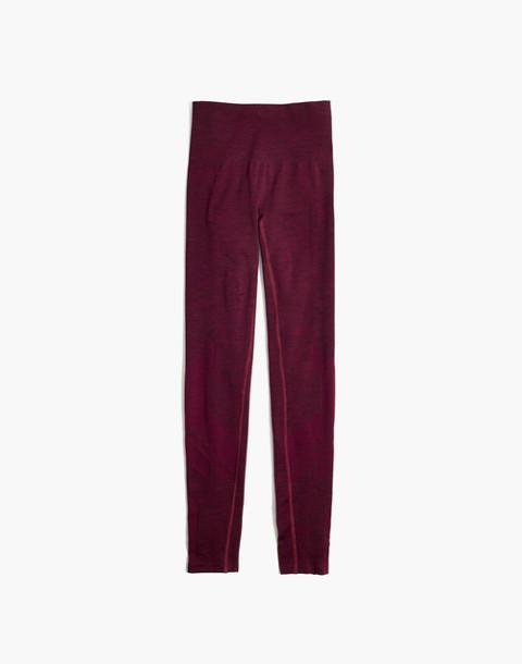 LNDR™ Eight Eight Leggings in burgundy marl image 4