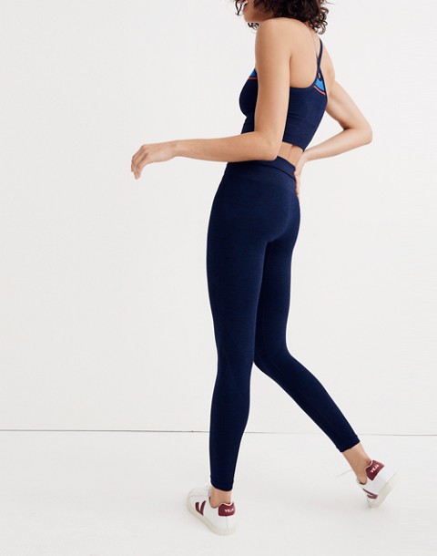 LNDR™ Six Eight Leggings in navy marl image 2