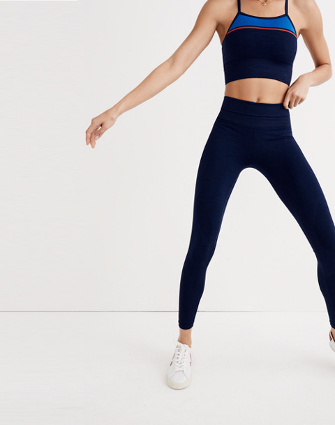 LNDR™ Six Eight Leggings in navy marl image 3