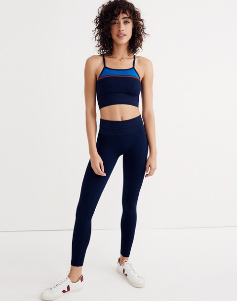 LNDR™ Six Eight Leggings in navy marl image 1