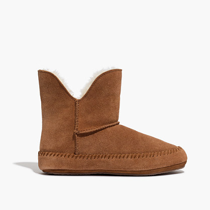 The Sherpa Bootie Slipper