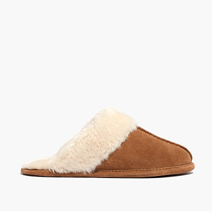 The Sherpa Slide Slipper