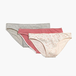 3-Pack Cotton-Modal® Bikini Undies Set