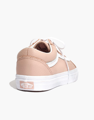Vans® Unisex Old Skool Lace-Up Sneakers in Pink Leather