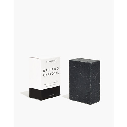 Herbivore Botanicals® Bamboo Charcoal Cleansing Bar Soap