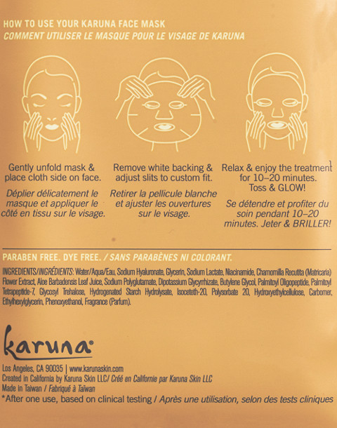 Karuna® Sheet Mask
