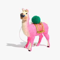 Cody Foster™ Pink Llama Ornament