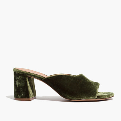 Pre-order The Beatriz Mule in Velvet