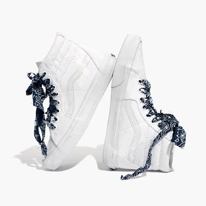Madewell x B Sides™ Bandana Vans® Unisex SK8-Hi High-Top Sneakers