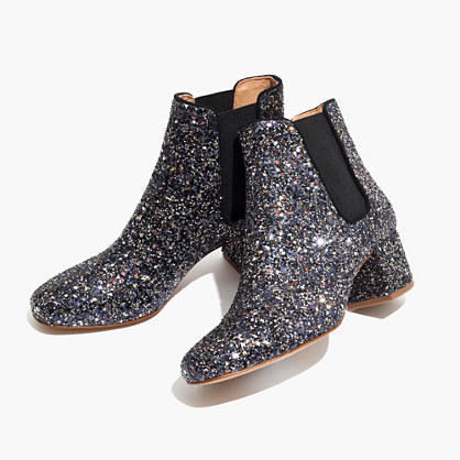 The Walker Chelsea Boot in Glitter