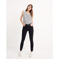 "Short 9"" High-Rise Skinny Jeans in Lunar"